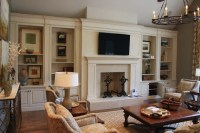 Built-Ins - Traditional - Living Room - nashville - by ...