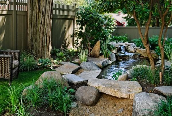 asian pocket garden