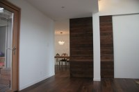 Salvaged Wood Pocket Door - Modern - Family Room - san ...