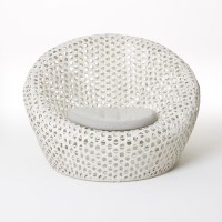 Montauk Nest Chair, Oyster - Contemporary - Outdoor Lounge ...