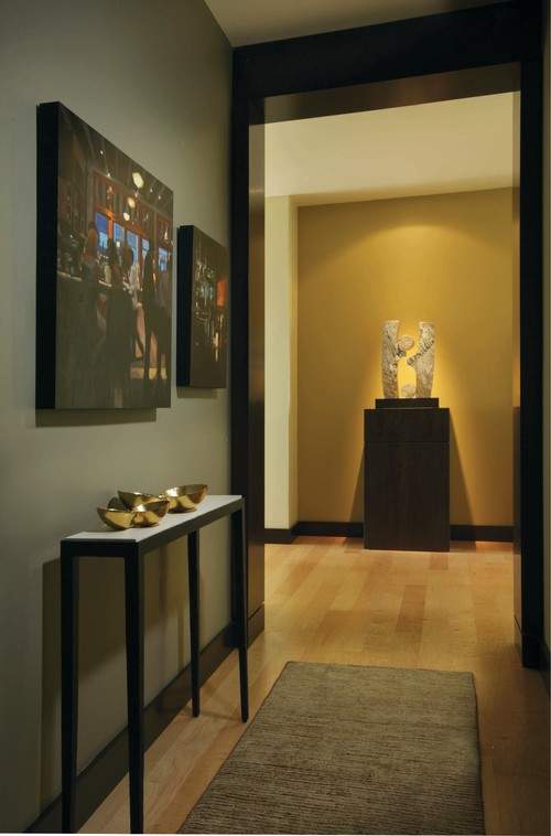 Contemporary Entry Design By Portland Interior Designer Soljaga Group