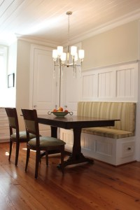 Kitchen banquette - Traditional - Kitchen - raleigh - by ...