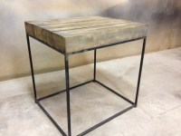 Modern Rustic Side Table - Modern - Side Tables And End ...