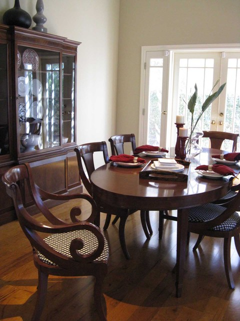 Regency British Colonial Dining Room Traditional Dining Room Los Angeles By Madison