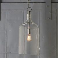 Glass Jug Lantern - Contemporary - Pendant Lighting - by ...
