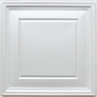 224 White Pearl Decorative Ceiling Tiles 24x24