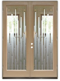 Glass Front Entry Doors - Frosted Glass Obscure - MOSAICS ...