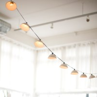 Pleated String Lights - Modern - Outdoor Rope And String ...