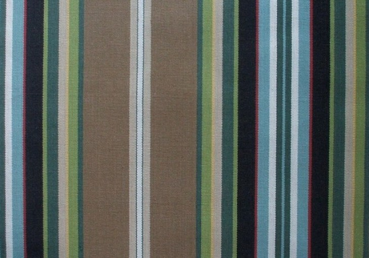 Green And Brown Shower Curtain