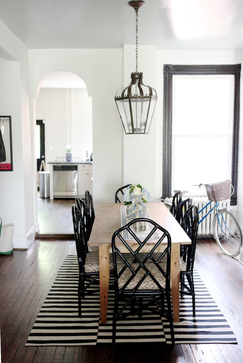 Below Is The Example Of The Contemporary Scandinavian Interior With Modern  Chippendale Dining Chairs.