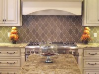 New Ravenna Djinn Limestone Backsplash - Traditional ...