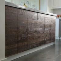 Reclaimed Lumber IKEA Kitchen
