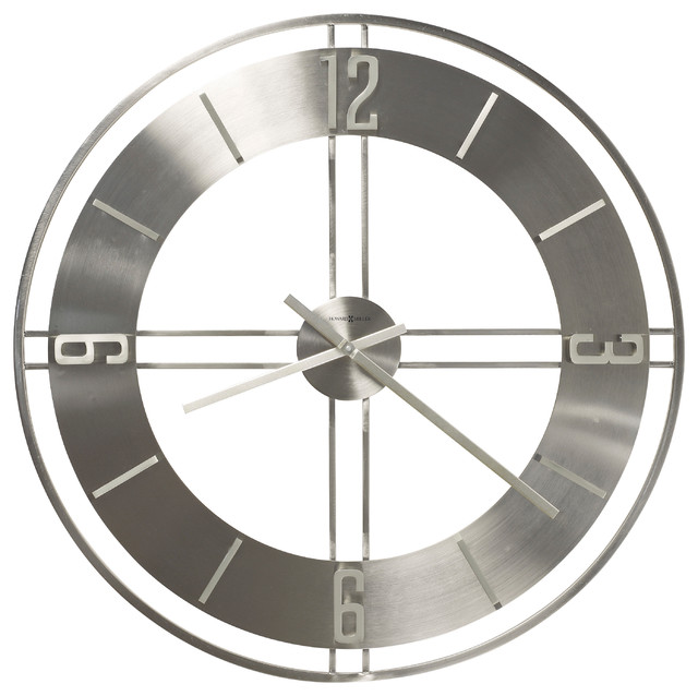 "Howard Miller Modern 30"" Oversized Quartz Wall Clock"