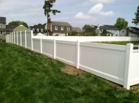 Combo - 4 ft & 6 ft high PVC Privacy Fence