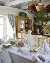 Cozy Country Cottage - Traditional - Kitchen - los angeles ...