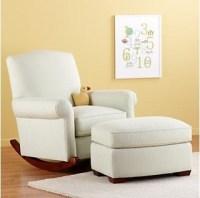 Nursery Rocker and Ottoman - Traditional - Nursing Chairs ...