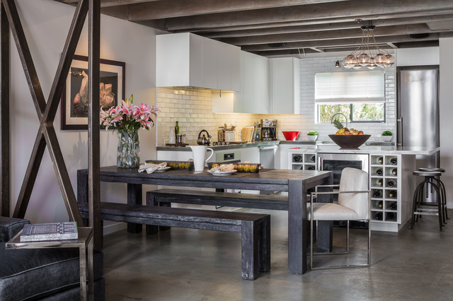 Venice Beach  Contemporary  Kitchen  los angeles  by Amy DeVault Interior Design