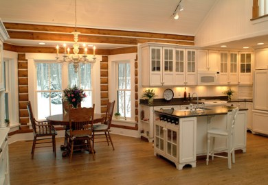 Log Cabin Kitchens Home Design Ideas Pictures Remodel