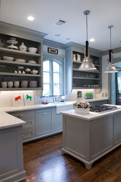 Fieldstone kitchen cabinets