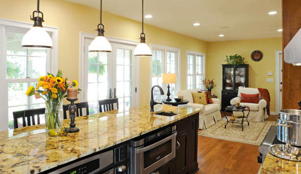 German Village Cottage Renovation  Traditional  Kitchen  columbus  by Housetrends Magazine