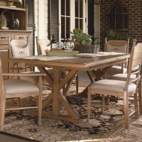 Paula Deen Down Home Family Style Dining Table - Oatmeal ...