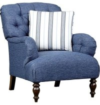 Willowwood Road Elmset Chair, Denim - Contemporary ...