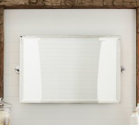 Kensington Wide Pivot Mirror - Traditional - Bathroom ...