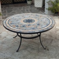 Dining Table: Outdoor Dining Table Mosaic