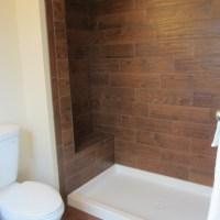 Wood tile Bathroom - Traditional - Bathroom - philadelphia ...