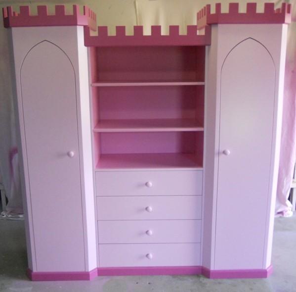 Princess Castle Wardrobe Bookshelf By KidSpace Playrooms Traditional Kids Brisbane