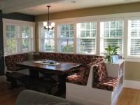 Windowed breakfast nook - Traditional - Dining Room ...