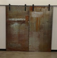 Metal Sliding Doors - Industrial - Interior Doors ...
