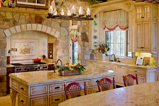 Stand Alone Home Traditional Kitchen Austin By