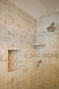 Bathtub Beige Subway Tiles