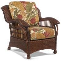 Casablanca Wicker Rattan Chair - Tropical - Furniture ...