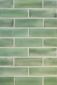 "2""x6"" Subway Tile in Green Tea - Beach Style - Tile ..."