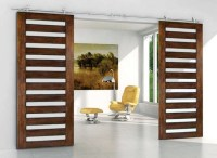 Modern Double Sliding BARN DOOR HARDWARE for Double