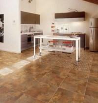 Porcelain Floor Tile in Kitchen - Modern - Kitchen - other ...