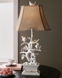 White Bird Lamp - Traditional - Lamp Shades - by Horchow