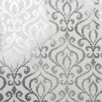 Venus Silver Foil Mini Damask Wallpaper Bolt ...