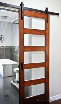 Bathroom Barn Door Hardware - Traditional - Bathroom ...