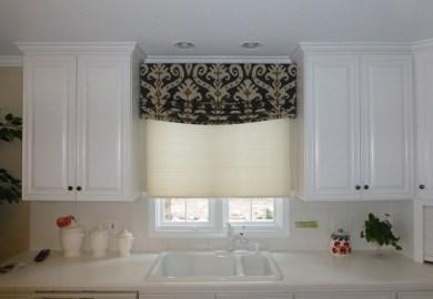 Modern Kitchen Window Valance