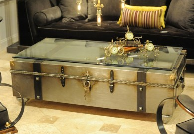 Distressed Trunk Coffee Tables Houzz