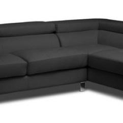 Baxton Studio Dobson Leather Modern Sectional Sofa Seats And Sofas Eindhoven Telefoonnummer Selma Black ...