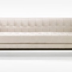 Natalia Leather And Chenille Sofa Ashley Furniture Reclining Reviews Roxbury Tufted - Contemporary Sofas By ...