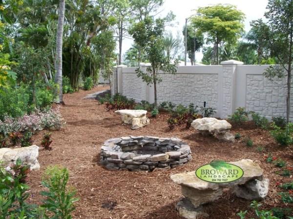 backyard landscaping - tropical