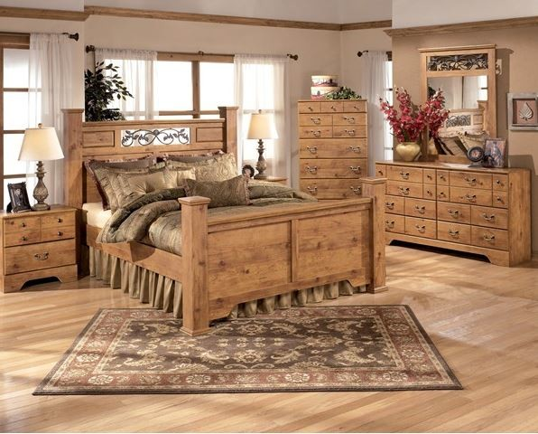 Ashley Bittersweet Queen Bedroom Set