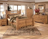 Ashley Bittersweet Queen Bedroom Set - Traditional ...