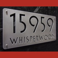 Address Plaques - Modern - House Numbers - indianapolis ...