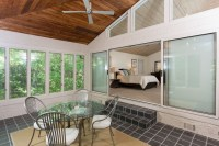 SUNROOM OFF MASTER BEDROOM - Traditional - Porch - atlanta